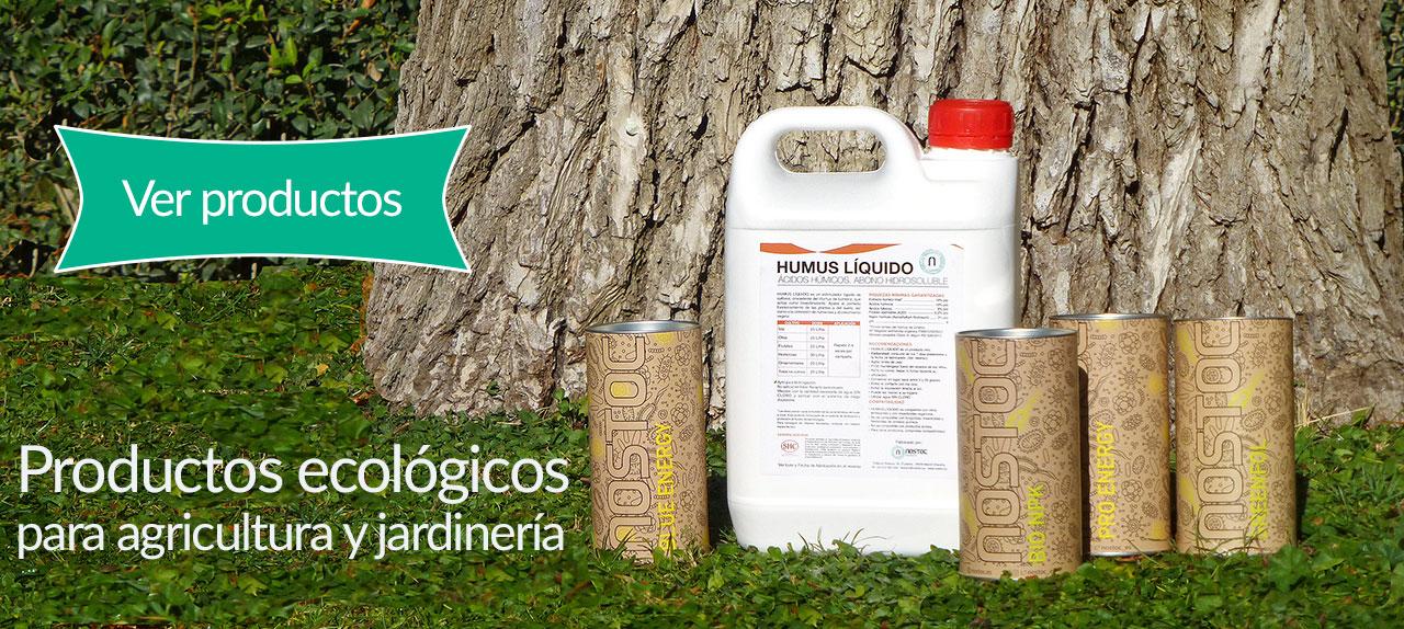 Productos ecol gicos para agricultura y jardiner a nostoc for Articulos de jardineria